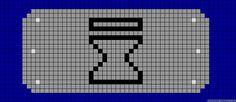 Naruto Sunagakure perler bead pattern