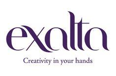 Logotipo e Claim istituzionale Exalta, brand di attrezzature professionali per parrucchieri Company Logo, Graphic Design, Logos, Logo, Visual Communication