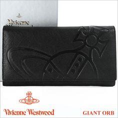 ヴィヴィアン 財布 ヴィヴィアンウエストウッド 長財布 ブラック Vivienne Westwood 1032V GIANT ORB NERO 【02P11Jan14】 【RCP】 【あす楽】 【楽ギフ_包装】【楽天市場】