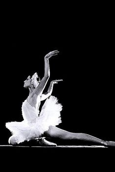 Swan Lake, adapting Anna Pavlova's miniature The Dying Swan and reinterpreting it. The fluidity of her arms and heartbreaking representation of strife and death remain unmatched in the ballet world to this day.