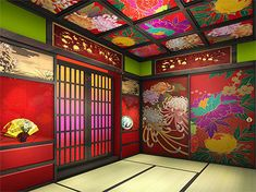 30 Best Inspiring Lunar New Year Decoration Ideas - Elevatedroom Japanese Modern, Japanese House, Japanese Design, Japanese Culture, Japanese Bedroom, Japanese Interior, Japan Summer, Japanese Flowers, New Years Decorations