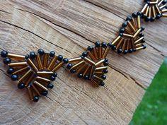Elegant triangle necklace Triangle Necklace, Beadwork, Bobby Pins, Hair Accessories, Pendants, Jewellery, Elegant, Bracelets, Earrings