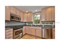 Big, spacious kitchen.