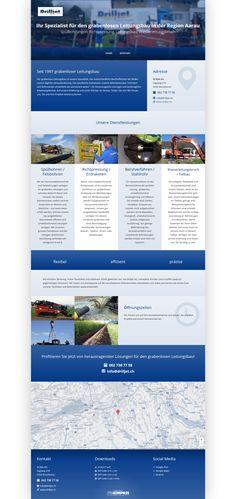 Drilljet AG, Moosleerau, Region Aarau, Tiefbauunternehmen, Bohrungen, Richtpressung, Leitungsbau