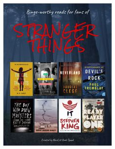 Novelist blog - Binge-worthy reads for fans of Stranger Things