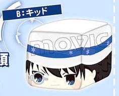 Face Cube Plush B Kid (Anime Toy)