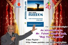 """Welcome to the DXN Fans Blog: Video Playlist : Mr. Fatemi Ghani's Book, """"Map You..."""