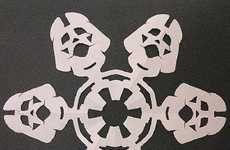 Star Wars Christmas Crafts #StarWars #Snowflake #Christmas