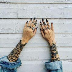 Sacred geometric tattoo
