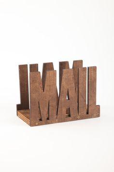 plank 2 mail holder   Cotton On