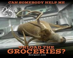 What hunting is all about! Not size of deer, not impressive antlers, but simply groceries!!! Now we can add the veggies :-)
