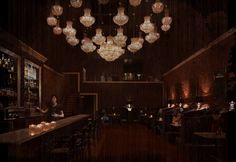 lighting, bar, booths