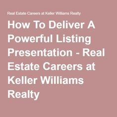 how new real estate agents get more listings | realtor career, Presentation templates