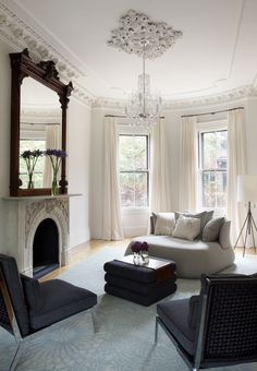 West Newton in Boston by Butz Klug Architecture, from Archinect. Love this traditional/contemporary combo.