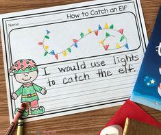 Literacy Snack Idea How To Catch An Elf 1st Grade Writing, Kindergarten Writing, Kindergarten Activities, Literacy, Kindergarten Journals, Christmas Writing, Preschool Christmas, Christmas Books, Christmas 2019