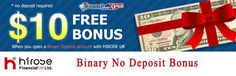 LeTechs Binary Options No Deposit Bonus _ $10 Welcome No Deposit Bonus-Hirose