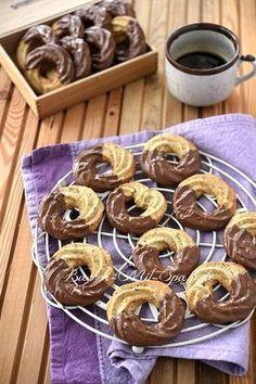 Mandelringe - weihnachtsgebäck - Home flw Easy Strawberry Desserts, Easy No Bake Desserts, Desserts For A Crowd, Fancy Desserts, Oreo Desserts, Summer Dessert Recipes, Healthy Dessert Recipes, Romantic Desserts, Pudding Desserts
