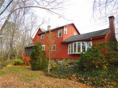 $184,900 Canton CT Large colonial, high ceilings, 2 fireplaces, new carpet in living room, updated electric, roof, furnace, newer windows wrapped in aluminum,l arge detached studio / workshop with electric, located on beautiful cherry brook Mary LeBlanc Realty 860-689-2689 text or call