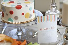 Love this cake/invites/colors for baby shower idea. Cute, hip, gender neutral.