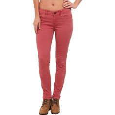 Aventura Clothing Blake Skinny Jeans (Dusty Cedar) Women's Jeans ($33) ❤ liked on Polyvore featuring jeans, grey, skinny leg jeans, skinny fit jeans, gray jeans, aventura and zipper jeans