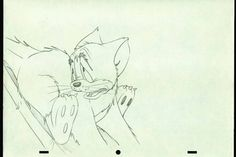 Production Drawings of Tom Cat