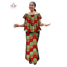 Online Shop Women suit African Dashiki For Women O-neck Skirt Set Bazin Riche African Fashion Clothing Cotton Traditional Clothing African Wear For Ladies, African Fashion Ankara, Latest African Fashion Dresses, African Dresses For Women, African Print Dresses, African Print Fashion, Party Dresses For Women, African Dashiki, African Women