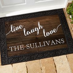 Personalize Your Home With This Decorative Personalized