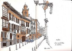 Carrer de Sant Alonso i campanar de Monti-Sion al barri de Sa Calatrava | Flickr - Photo Sharing!