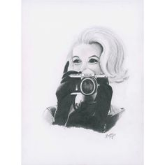 Marilyn Loves Nikon Giclee Print (€26) ❤ liked on Polyvore featuring home, home decor, wall art, marilyn monroe home decor, nikon, giclee wall art and marilyn monroe wall art