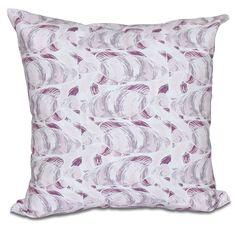 E by Design Fishwich 20-inch Animal Print Pillow
