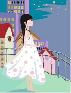 Diy oil painting, paint by number kits for kids - The little girl 20X30cm. digital oil painting http://www.amazon.com/dp/B00LO20O68/ref=cm_sw_r_pi_dp_dIyEvb0N5HN63
