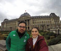 No Palácio Real de Bruxelas #Brussels #Belgium #Travel