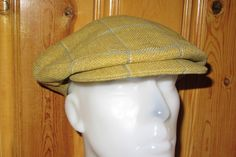 COUSINS of CHELTENHAM Vintage 80s Cabbie Hat Golden by HatsForward