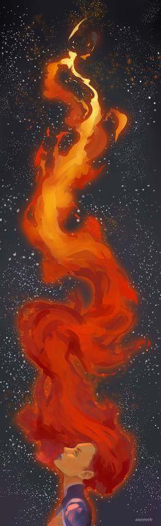 """Starfire, by """"axeeeee"""" (!?)"""