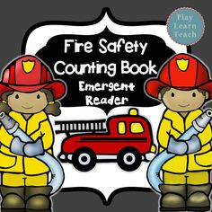 $ Emergent Reader Count from 1-10 with the firefighters and their equipment