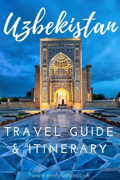 An in-depth Uzbekistan travel guide to help you plan your Central Asia adventure! From where to go, to what to wear, this is all you need to know about visiting Uzbekistan | #uzbekistan #centralasia #travel