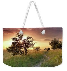 Sunset idyll Weekender Tote Bag x by Ren Kuljovska. The tote bag includes cotton rope handle for easy carrying on your shoulder. Weekender Tote, Tote Bag, Nature Artists, Amazing Art, Awesome, Nature Artwork, Art Sites, Pin Pin, Staycation