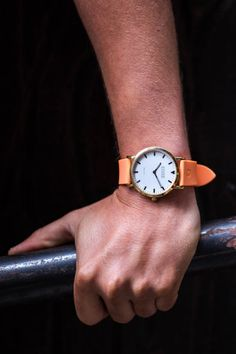Shore Projects leather watch straps are the finest Italian quality! Waterproof so you can swim in the sea this Summer!