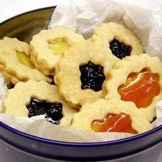 """Linzer Torte Cookies  
