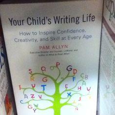 Start kids writing early