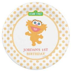 personalized sesame street birthday party plates  sc 1 st  Pinterest & Ahoy Nautical Sailboat Baby Shower 9