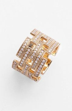 Dana Rebecca Designs 'Katie Z.' Diamond Cigar Band Ring available at #Nordstrom: