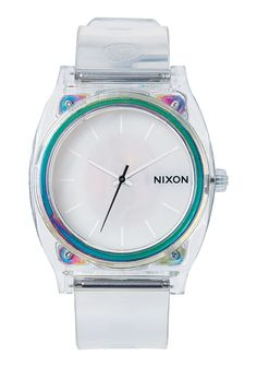 Time Teller P | Men's Watches | Nixon Watches and Premium Accessories || waterproof translucent