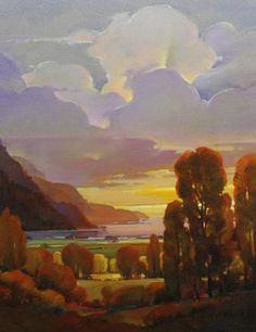 Mac Stevenson: Sunset Bay