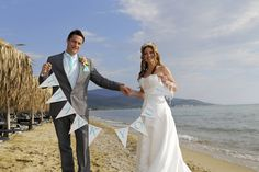 Sarah & Paul Swann chose to get married on the beautiful Geek Island of Thassos at the 5-star Ilio Mare Beach Hotel in Prinos https://www.facebook.com/media/set/?set=a.10152613494794893.1073741854.184821499892&type=3