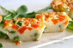 Pastelitos de arroz jazmín con verduras