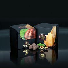 Gulliver Gourmet Selection, Belgian 72% Dark chocolate cover Roasted Whole Hazelnuts.