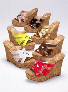 Cork Slide Sandal - Colin Stuart - Victoria's Secret