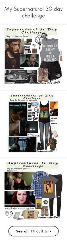 """""""My Supernatural 30 day challenge"""" by fandoms-unite-3947 ❤ liked on Polyvore featuring Episode, Anine Bing, And Finally, KAZ, rag & bone, Rails, Speck, Jabra, Vero Moda and deLux"""