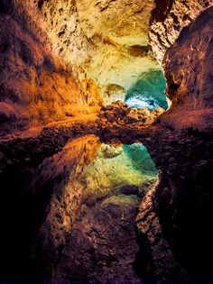 Espejismo en la Cueva de los Verdes